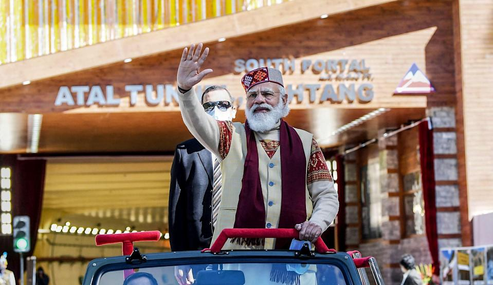 File image: India's ruling party led by Modi announces