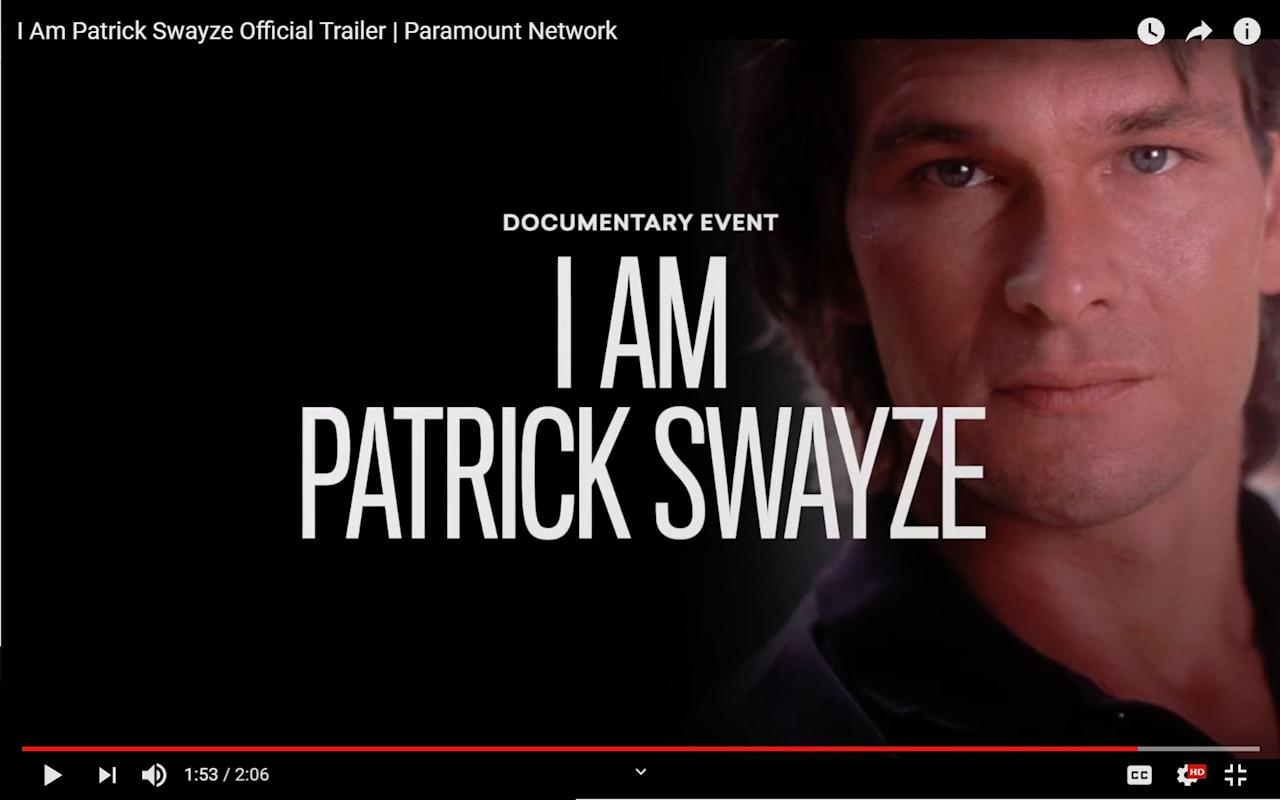 A documentary will pay homage to Patrick Swayze on the ten ...
