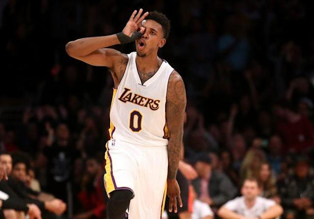 "<a class=""link rapid-noclick-resp"" href=""/nba/players/4294/"" data-ylk=""slk:Nick Young"">Nick Young</a>'s ready to fire to his heart's content in Oakland. (Getty)"
