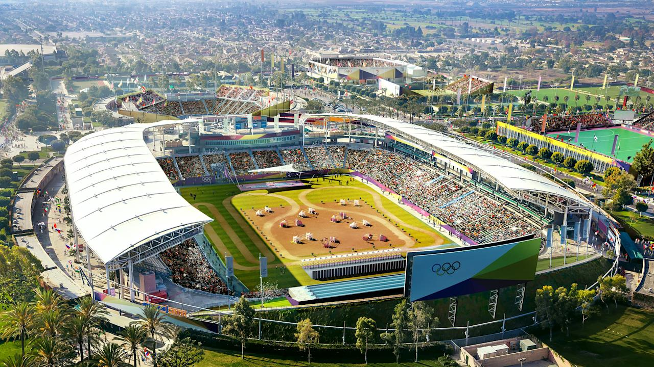 <p>South Bay StubHub Stadium Rendering. (Photo courtesy of LA2024) </p>
