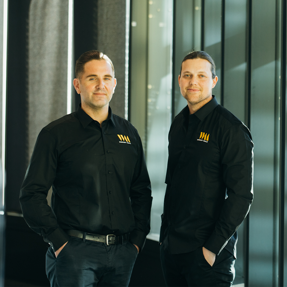 Founders Tomi Jurlina and Dean Deakin. Image: Supplied
