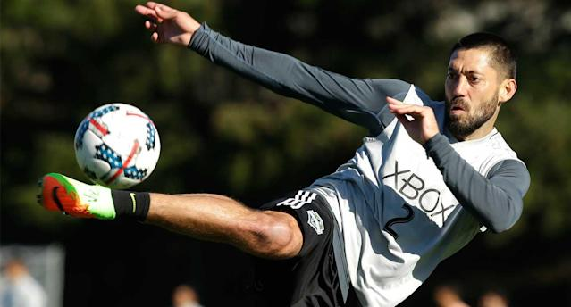 Dempsey and the MLS champion Sounders are training in Tukwila, Wash. (AP Photo)