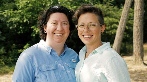 PHOTO: Brandy Welch (left) and Eden Rogers are pictured in this undated photo. (Nadia Awad/Lambda Legal)