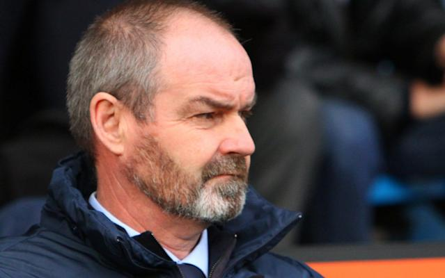 """Steve Clarke has already played down speculation linking him with the vacant position of Scotland manager but his lustre will be enhanced by Kilmarnock's unexpected success against Celtic on Saturday, winning 1-0 at Rugby Park, where Youssouf Mulumbu scored the only goal. The Ayrshire side remain closer to the relegation zone than the higher reaches of the Scottish Premiership but their weekend win saw them into the top half of the division. That prospect looked remote during Lee McCulloch's spell in charge earlier in the season, when Killie lost 5-0 to Celtic at Parkhead in the Betfred Scottish League Cup and 2-0 at home in the league, but under Clarke they have now drawn with Celtic and Rangers in Glasgow and beaten both Old Firm teams at Rugby Park. Clarke had been away from Scottish football for 30 years prior to the return to his native Ayrshire and in his 11 years as a Chelsea defender he won FA Cup, League Cup and European Cup Winners' Cup medals as well as making six appearances for Scotland. Coaching and management experience followed at Chelsea, West Ham, Liverpool, West Brom, Reading and Aston Villa, so it would be no surprise if the Scottish Football Association should take more than a passing interest in the 54-year-old. Not that the possibility is welcome amongst the Kilmarnock players. """"If it happens, he does have credentials,"""" said Jamie MacDonald. The goalkeeper added: """"It's been a long time since Scotland's been to an international tournament and that's something we hope will be addressed in the coming years, but for purely selfish reasons I hope he's here in the long run.'' Pressed to identify how Clarke has transformed Kilmarnock's fortunes, MacDonald said: """"Everybody asks this and I don't think anybody can give you a proper answer. He just makes everything so simple in terms of knowing what you're doing. """"Football's not a difficult game as such. It's us players who seem to make it more difficult. We worked on our shape all week, what we were goi"""
