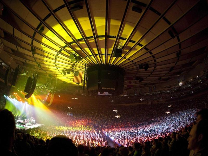 Chase Facebook madison square garden
