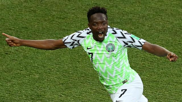 The attacker inspired Nigeria to a win over Iceland to give them a good chance of reaching the last-16, and is confident of beating Argentina