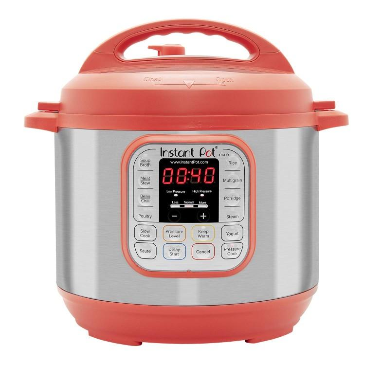 Bright red Instant Pot Duo 60. (Photo: Amazon)