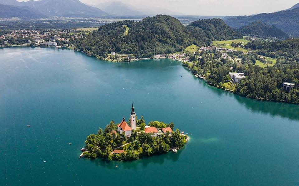 lake bled - didier marti/getty images
