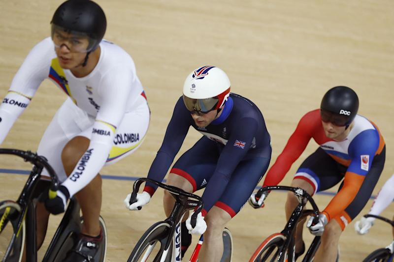 Success | British riders such as Jason Kenny (centre) enjoyed much success at Rio 2016: AFP/Getty Images
