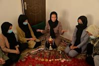 In Afghanistan, women have long faced open hostility to their involvement in sport (AFP/Hoshang Hashimi)