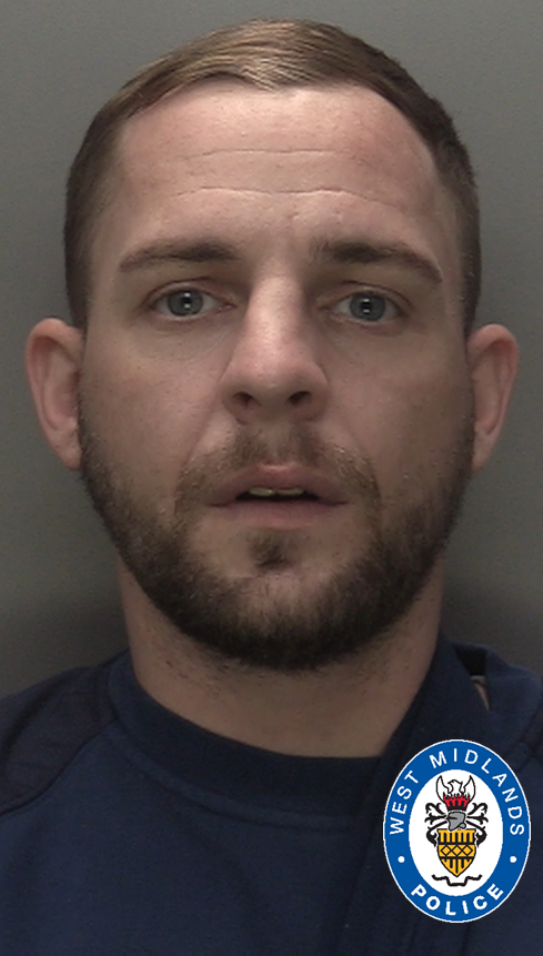 Lee Smythe has been jailed following the pursuit. (West Midlands Police)