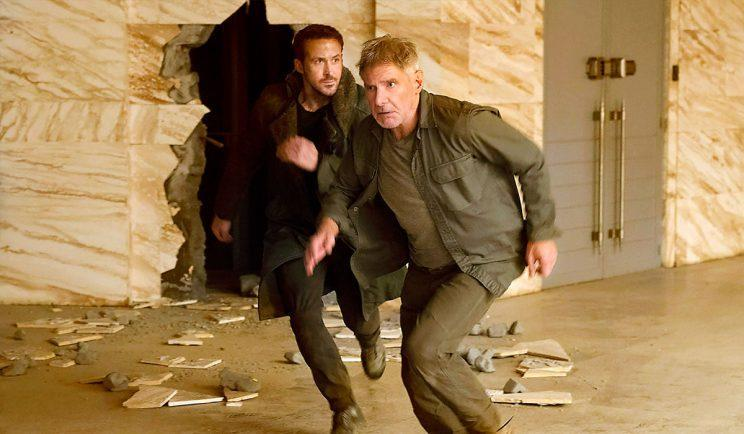 Ryan Gosling and Harrison Ford team up in Blade Runner 2049 - Credit: Columbia Pictures