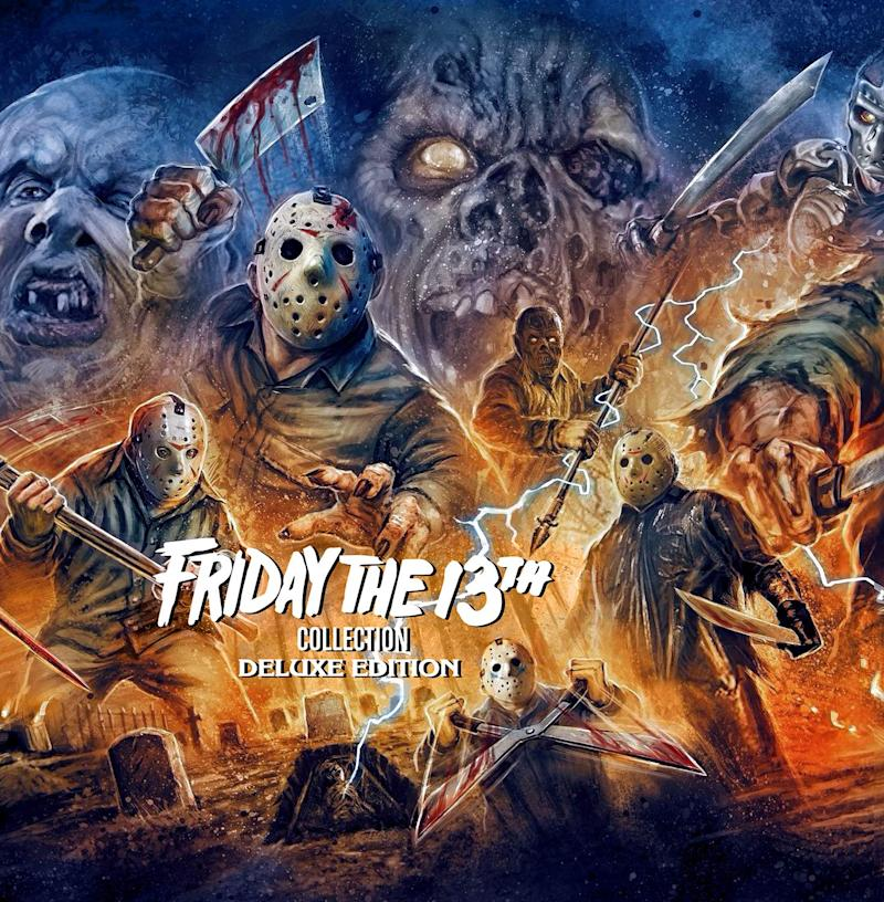 The Friday the 13th Collection features all 12 movies and bonus materials. (Photo: Scream Factory/Shout! Factory)