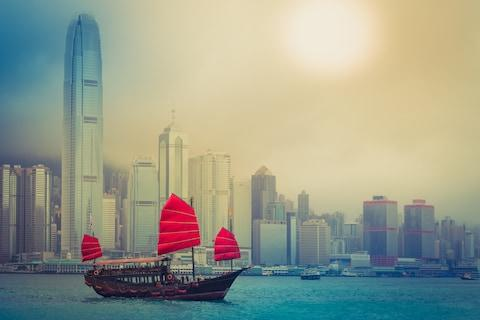 Victoria Harbour - Credit: GETTY
