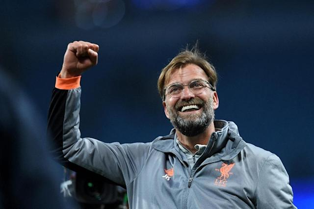 Going places: Jurgen Klopp has inspired Liverpool back to the Champions League final (AFP Photo/Paul ELLIS)