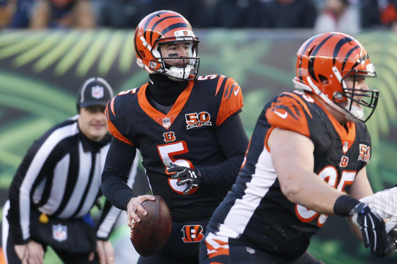 best cheap 06e06 f7ae4 QB AJ McCarron agrees to sign 2-year contract with Bills
