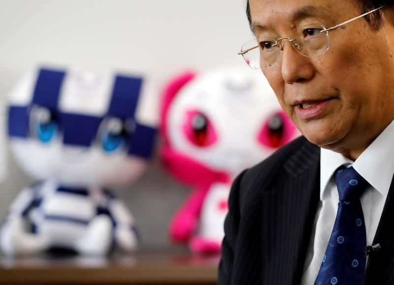 Tokyo 2020 chief rebuffs higher reported Games costs