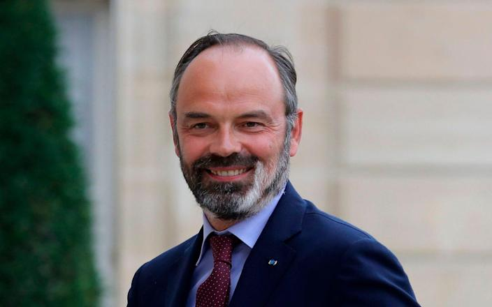 Edouard Philippe has grown in popularity and has been seen as a possible presidential candidate - LUDOVIC MARIN/AFP
