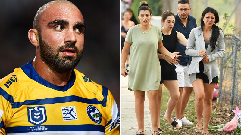Tim Mannah and Leila Geagea, pictured here in 2019 and 2020.