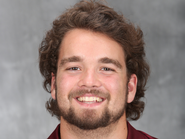 Minnesota offensive guard Nick Connelly died at age 22. (Via University of Minnesota)