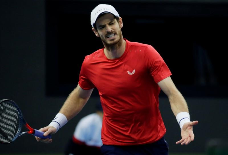 Murray faces 'Baby Fed' instead of Federer at ATP Cup