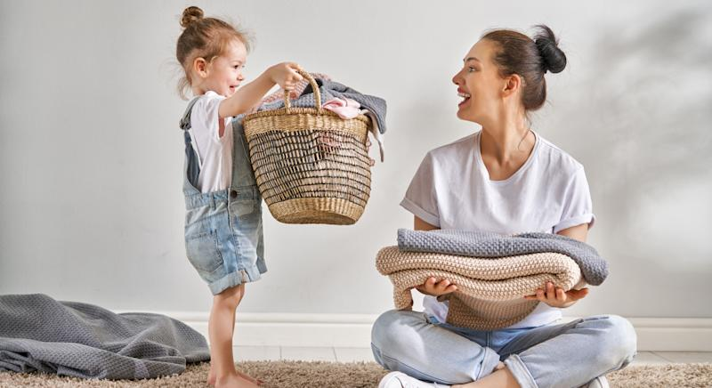 A mum has revealed her genius trick for getting the family to help keep their home tidy [Image: Getty]