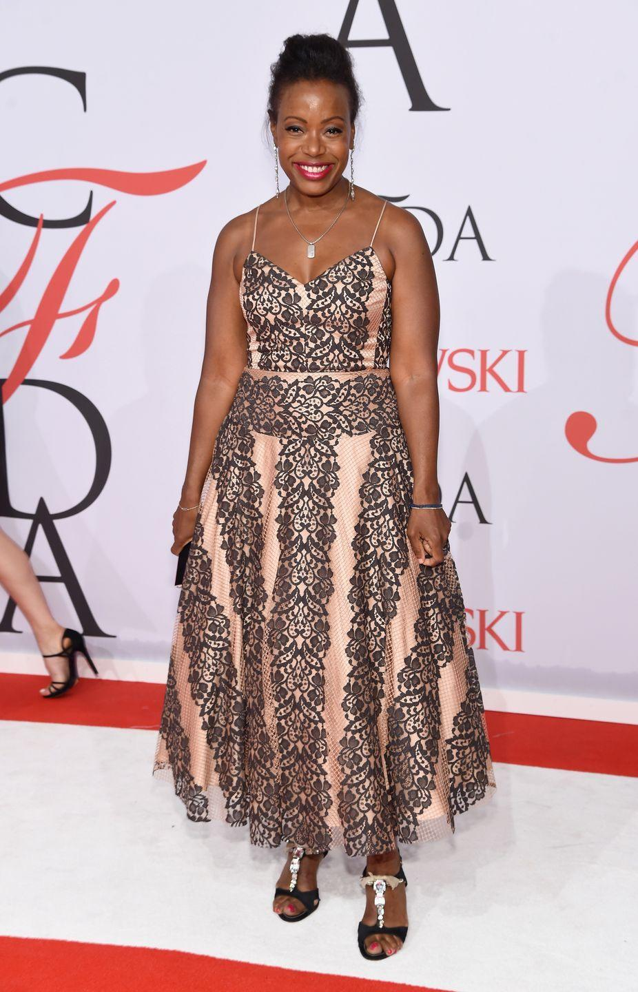 "<p>Tracy Reese is an American designer who is known for ""<a href=""https://cfda.com/members/profile/tracy-reese"" rel=""nofollow noopener"" target=""_blank"" data-ylk=""slk:rich, daring colors and unique prints"" class=""link rapid-noclick-resp"">rich, daring colors and unique prints</a> that are crafted into joyful, feminine pieces for the modern woman."" Upon graduating Parsons in 1984, Tracy Reese worked for French fashion designer Martine Sitbon at the small contemporary firm, Arlequin. Reese went on to work for many top fashion houses, including Perry Ellis, where she became design director for women's portfolio. In 1997, Reese launched her eponymous line which received high praise. Her <a href=""https://cfda.com/members/profile/tracy-reese"" rel=""nofollow noopener"" target=""_blank"" data-ylk=""slk:line"" class=""link rapid-noclick-resp"">line</a> combined bold hues and prints with modern silhouettes and shapes. She launched her second line, Plenty by Tracy Reese, in 1998. In 2014, Reese launched DRESSES by Tracy Reese, a line of contemporary dresses that can take you from work to a special occasion. Reese is a celebrity favorite, having dressed Michelle Obama, Sarah Jessica Parker, and Taylor Swift. She serves on the CFDA Board of Directors, and is involved in many social causes such as the AIDS Fund Committee for the New York Community Trust. </p>"