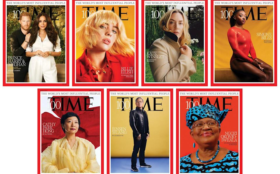 This year's Time 100 cover shoots - Pari Dukovic for TIME