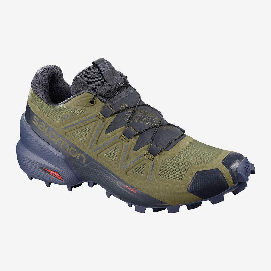 """<p><strong>salomon</strong></p><p>salomon.com</p><p><strong>$150.00</strong></p><p><a href=""""https://go.redirectingat.com?id=74968X1596630&url=https%3A%2F%2Fwww.salomon.com%2Fen-us%2Fshop%2Fproduct%2Fspeedcross-5-gtx-w.html%231191%3D15465&sref=https%3A%2F%2Fwww.womenshealthmag.com%2Ffitness%2Fg22853139%2Fbest-winter-running-shoes%2F"""" rel=""""nofollow noopener"""" target=""""_blank"""" data-ylk=""""slk:Shop Now"""" class=""""link rapid-noclick-resp"""">Shop Now</a></p><p>Between the """"wet traction"""" rubber compound Salomon used to make the Speedcross 5's spiky outsoles and the distinct arrow pattern of the soles, these rugged shoes give you serious ground contact so you stick to even the slickest surfaces. No matter how wet it gets, though, the Gore-Tex upper provides plenty of protection from the elements. </p>"""