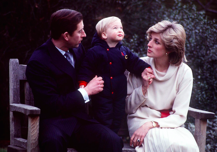 Diana said a three-year-old William called her 'the most selfish woman' he'd ever met (Picture: Rex)