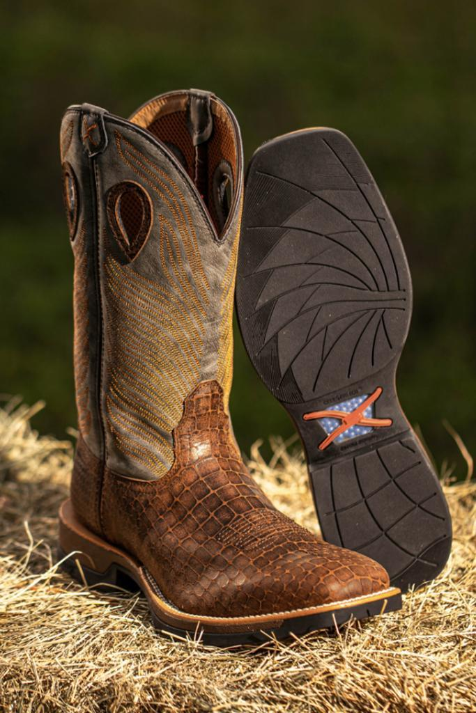 The Tech X Western boots will feature CellStretch comfort technology. - Credit: Courtesy of Twisted X