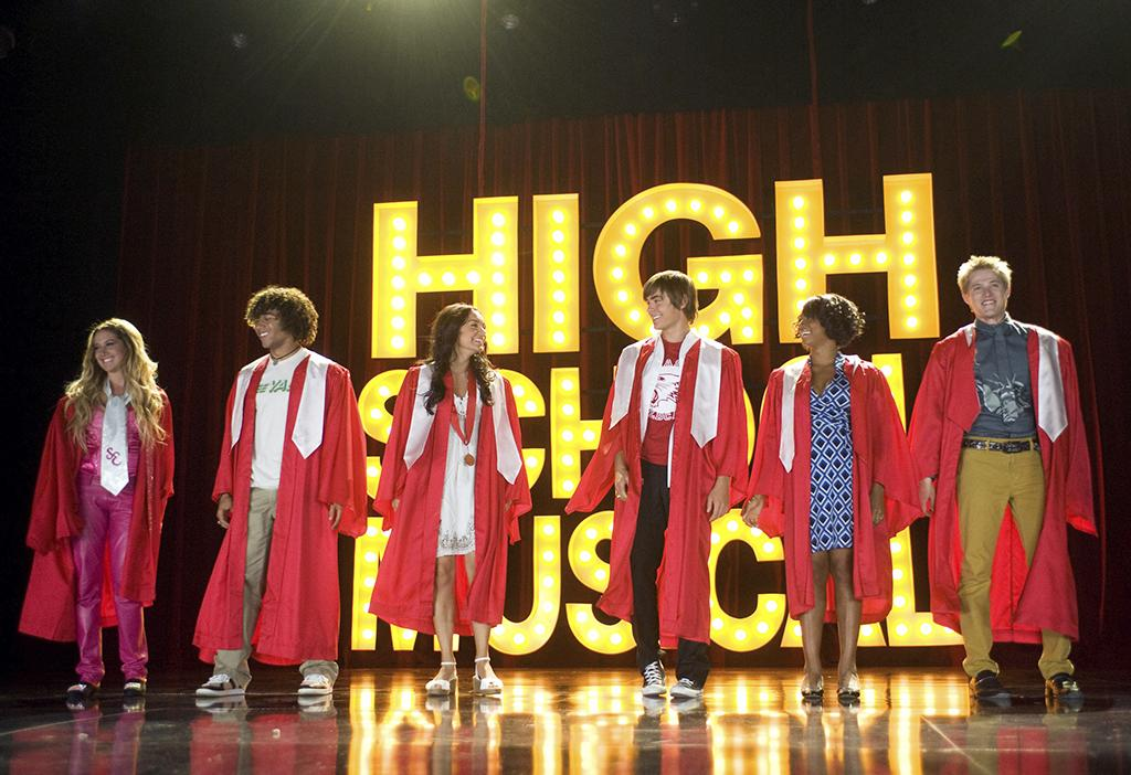 High School Musical trilogy  - 3:45 pm to 9:20 pm EST - Disney