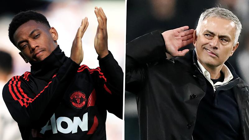 Man United's Martial was determined to prove Mourinho wrong at Old Trafford