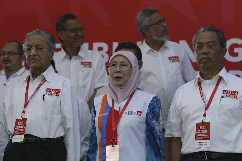 Pakatan manifesto: MPs to appoint Speaker, AG