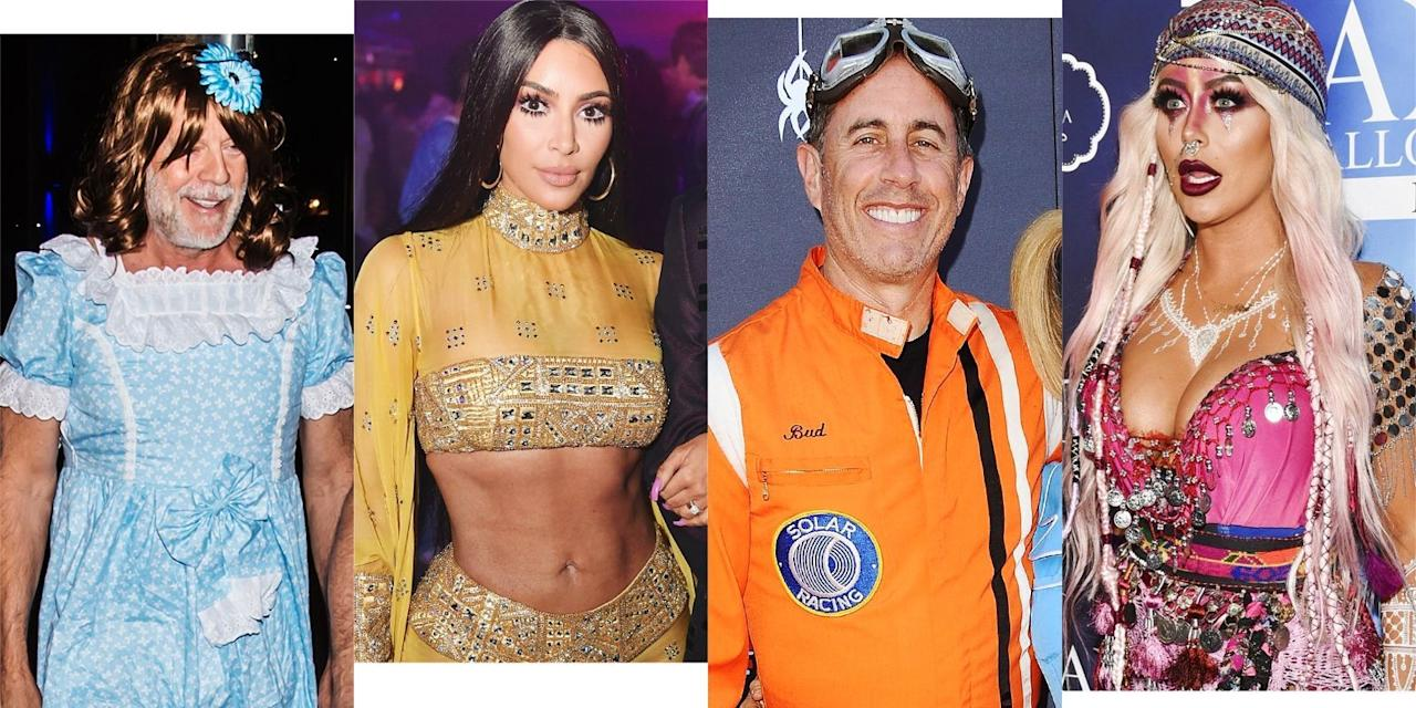<p>Here are some of our favorite celebrity Halloween costumes this year</p>
