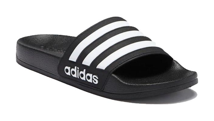 Save 25% on this classic slide sandal from adidas.