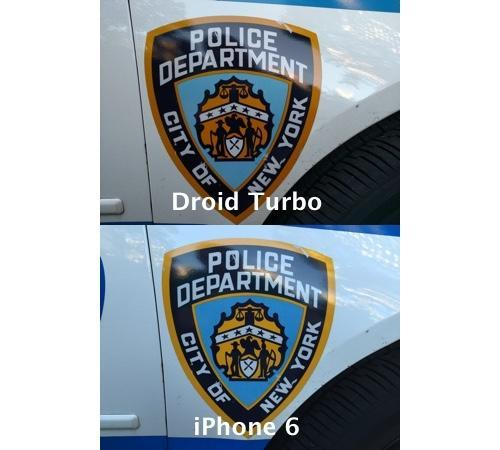 Comparison of photos taken with Motorola Droid Turbo and iPhone 6