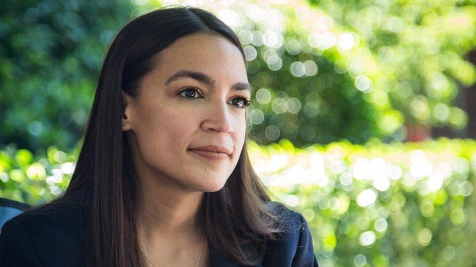Alexandria Ocasio-Cortez, file picture 14 June 2020