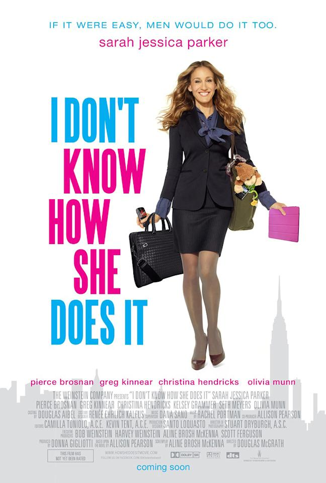 """Weinstein Company's <a href=""""http://movies.yahoo.com/movie/1810195522/info"""">I Don't Know How She Does It</a> - 2011"""