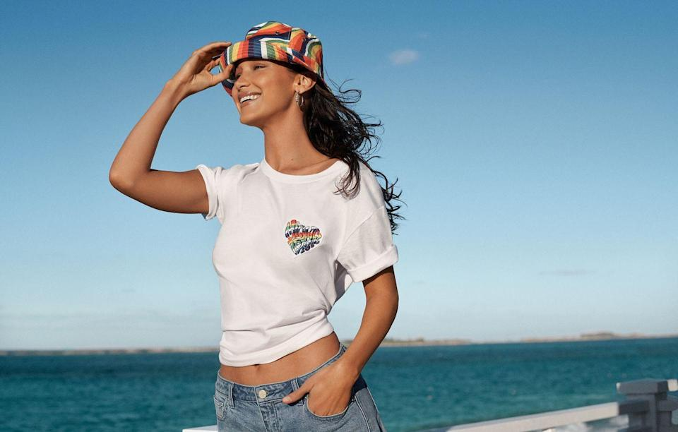 """<p><strong>Who: </strong>Michael Kors</p><p><strong>What:</strong> Pride 2021 collection and rainbow patch t-shirt</p><p><strong>Where:</strong> In Michael Kors stores worldwide and online</p><p><strong>Why:</strong> In honor of Pride month, Michael Kors is launching a capsule collection of items that reflect the joy of the LGBTQIA+ community. The rainbow patch t-shirt in the collection directly benefits OutRight Action International, with 100% of the profits going directly to the organization. OutRight is an organization recognized by the United Nations for its work at the international, regional, and national levels to research, document, defend, and advance human rights for LGBTQIA+ people around the world. They are committed to uplifting and improving the lives of those who face abuse and discrimination for their gender identity, sexual orientation, and gender expression.</p><p><a class=""""link rapid-noclick-resp"""" href=""""https://go.redirectingat.com?id=74968X1596630&url=https%3A%2F%2Fwww.michaelkors.com%2Ftrend%2Fshow-your-pride%2F_%2FN-1v8ysvm&sref=https%3A%2F%2Fwww.elle.com%2Ffashion%2Fshopping%2Fg36597382%2Fthe-launch-june-2021%2F"""" rel=""""nofollow noopener"""" target=""""_blank"""" data-ylk=""""slk:SHOP NOW"""">SHOP NOW</a></p>"""