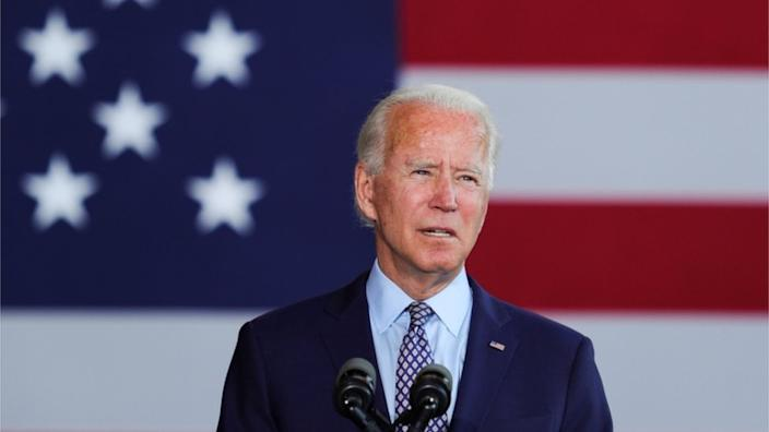 Former vice president Joe Biden sees himself as a 'transitional candidate'