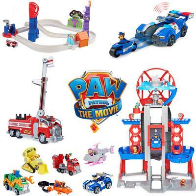 Spin Master's PAW Patrol: The Movie Toy Collection (CNW Group/Spin Master)