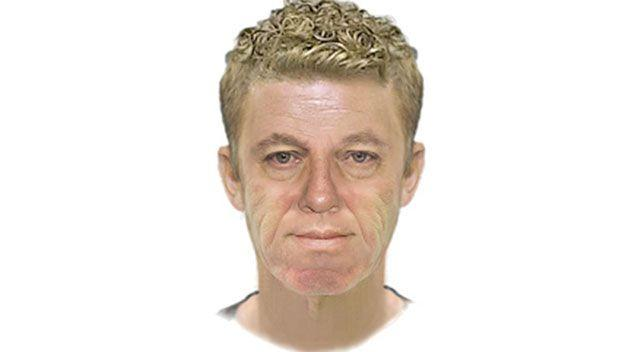 Authorities released a computer-generated image of a man they believe can assist their enquiries. Source: Victoria Police