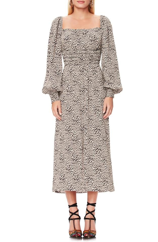 "<p>All our editors are coveting this <a href=""https://www.popsugar.com/buy/AFRM-Miro-Leopard-Print-Long-Sleeve-Dress-488142?p_name=AFRM%20Miro%20Leopard%20Print%20Long-Sleeve%20Dress&retailer=shop.nordstrom.com&pid=488142&price=89&evar1=fab%3Aus&evar9=45320445&evar98=https%3A%2F%2Fwww.popsugar.com%2Ffashion%2Fphoto-gallery%2F45320445%2Fimage%2F46582513%2FAFRM-Miro-Leopard-Print-Long-Sleeve-Dress&list1=shopping%2Cfall%20fashion%2Cdresses%2Cfall&prop13=mobile&pdata=1"" rel=""nofollow"" data-shoppable-link=""1"" target=""_blank"" class=""ga-track"" data-ga-category=""Related"" data-ga-label=""https://shop.nordstrom.com/s/afrm-miro-leopard-print-long-sleeve-dress/5337227?origin=category-personalizedsort&amp;breadcrumb=Home%2FWomen%2FClothing%2FDresses&amp;color=animal"" data-ga-action=""In-Line Links"">AFRM Miro Leopard Print Long-Sleeve Dress </a> ($89).</p>"