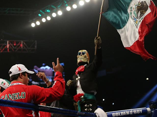 The rematch would likely take place on the Mexican holiday Cinco de Mayo (Getty)