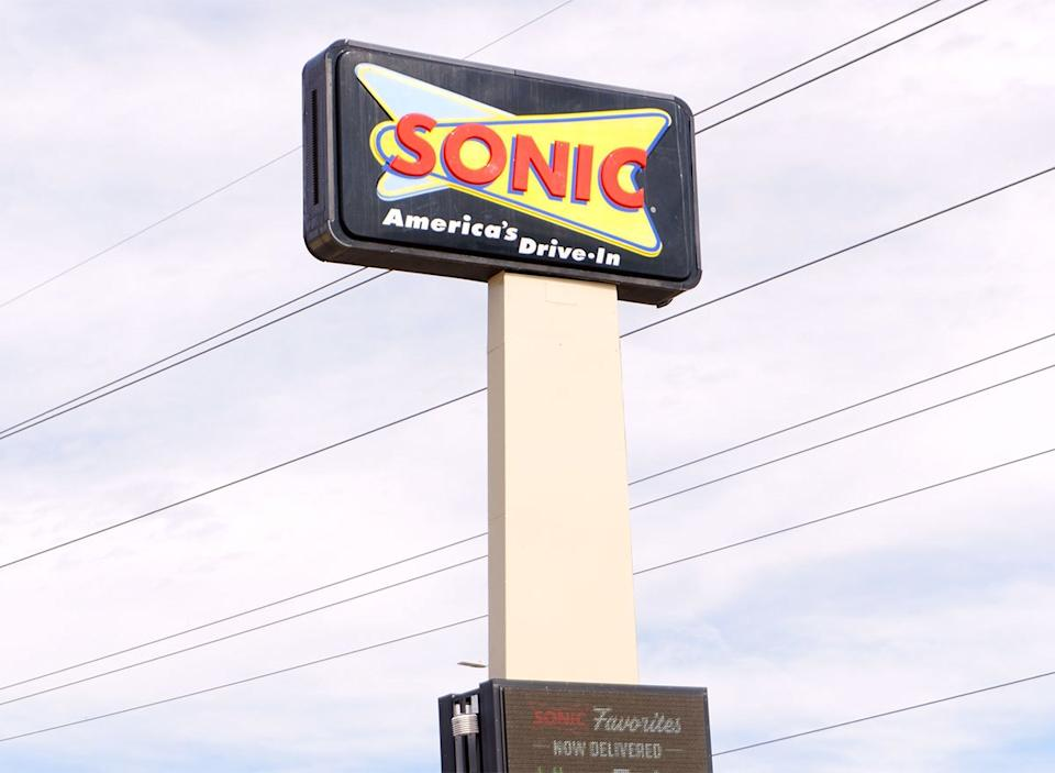 sonic drive in sign