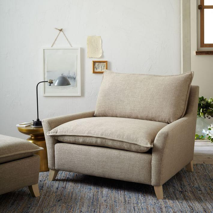 "<p>westelm.com</p><p><strong>$849.00</strong></p><p><a href=""https://go.redirectingat.com?id=74968X1596630&url=https%3A%2F%2Fwww.westelm.com%2Fproducts%2Fbliss-chair-and-a-half-g491&sref=https%3A%2F%2Fwww.housebeautiful.com%2Fshopping%2Ffurniture%2Fg3816%2Fcozy-couches-and-chairs%2F"" rel=""nofollow noopener"" target=""_blank"" data-ylk=""slk:Shop Now"" class=""link rapid-noclick-resp"">Shop Now</a></p><p>An oversized, cushy down-filled arm chair? Sign me up, I'm ready to Netflix.</p>"