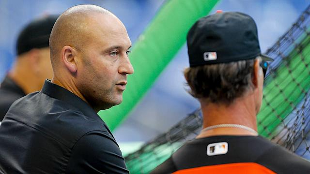 Derek Jeter doesn't want to hear about tanking. The Marlins CEO says his players are expected to win.
