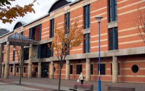 The trial is taking place at Teesside Crown Court