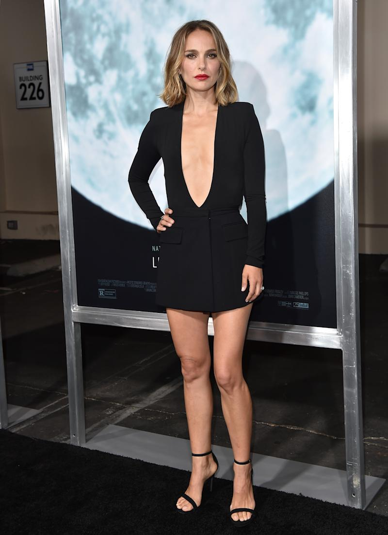 """LOS ANGELES, CALIFORNIA - SEPTEMBER 25: Natalie Portman attends the Premiere of FOX's """"Lucy In The Sky"""" at Darryl Zanuck Theater at FOX Studios on September 25, 2019 in Los Angeles, California. (Photo by Axelle/Bauer-Griffin/FilmMagic)"""